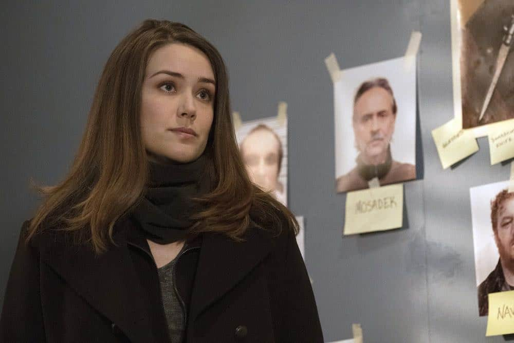 "THE BLACKLIST -- ""Zarak Mosadek (#23)"" Episode 518 -- Pictured: Megan Boone as Elizabeth Keen  -- (Photo by: Virginia Sherwood/NBC)"