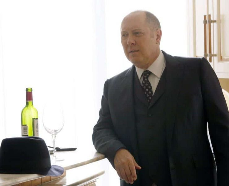 "THE BLACKLIST -- ""Zarak Mosadek (#23)"" Episode 518 -- Pictured: James Spader as Raymond ""Red"" Reddington -- (Photo by: Will Hart/NBC)"