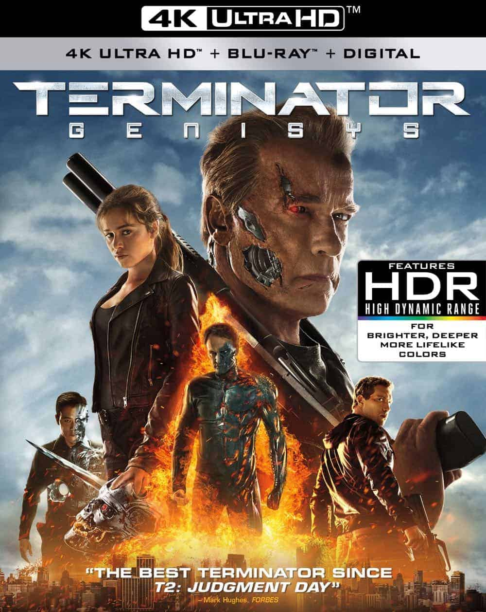 TERMINATOR GENISYS 4K Cover