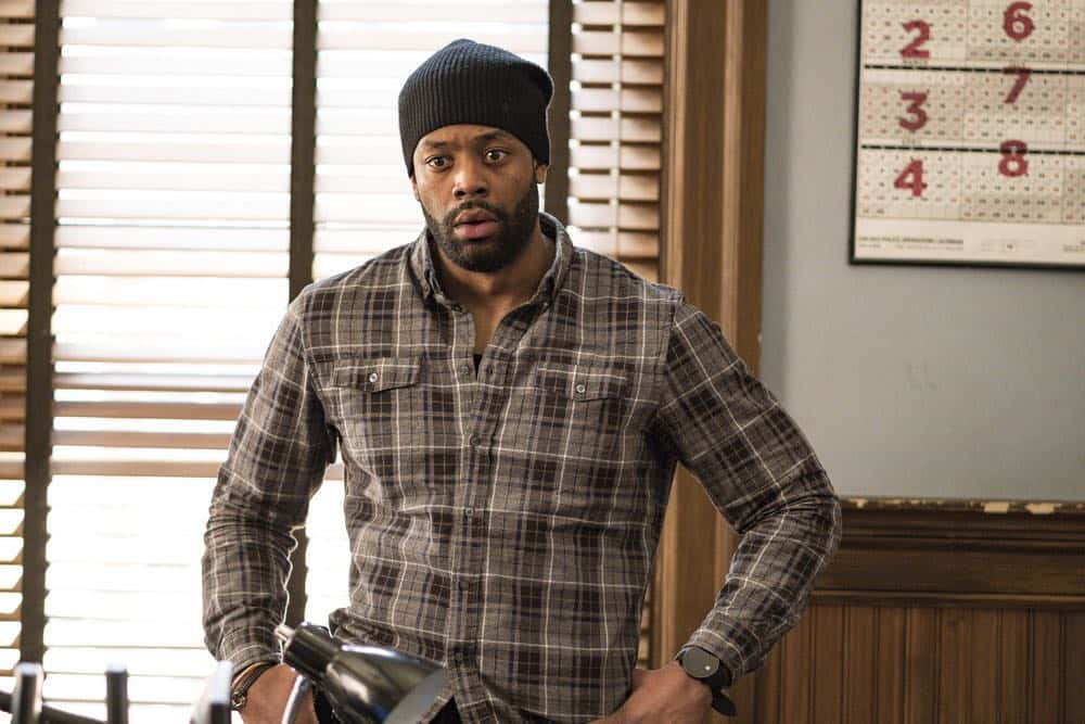 """CHICAGO P.D. -- """"Payback"""" Episode 519 -- Pictured: LaRoyce Hawkins as Kevin Atwater -- (Photo by: Matt Dinerstein/NBC)"""