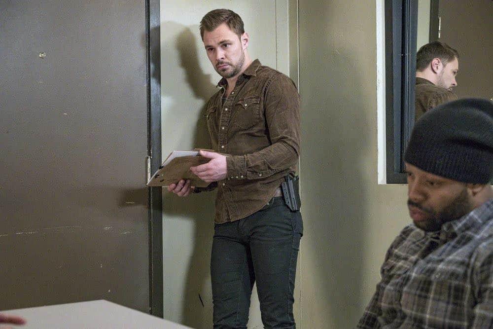"CHICAGO P.D. -- ""Payback"" Episode 519 -- Pictured: Patrick John Flueger as Adam Ruzek -- (Photo by: Matt Dinerstein/NBC)"