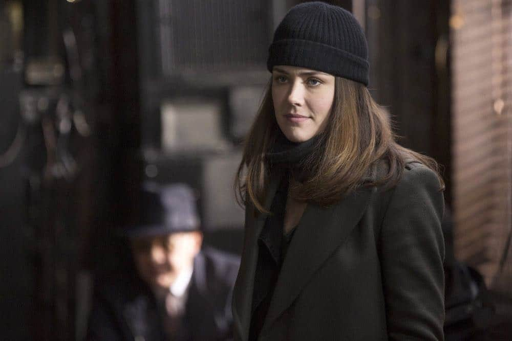 "THE BLACKLIST -- ""Ian Garvey (#13): Conclusion"" Episode 519 -- Pictured: Megan Boone as Elizabeth Keen -- (Photo by: Eric Leibowitz/NBC)"