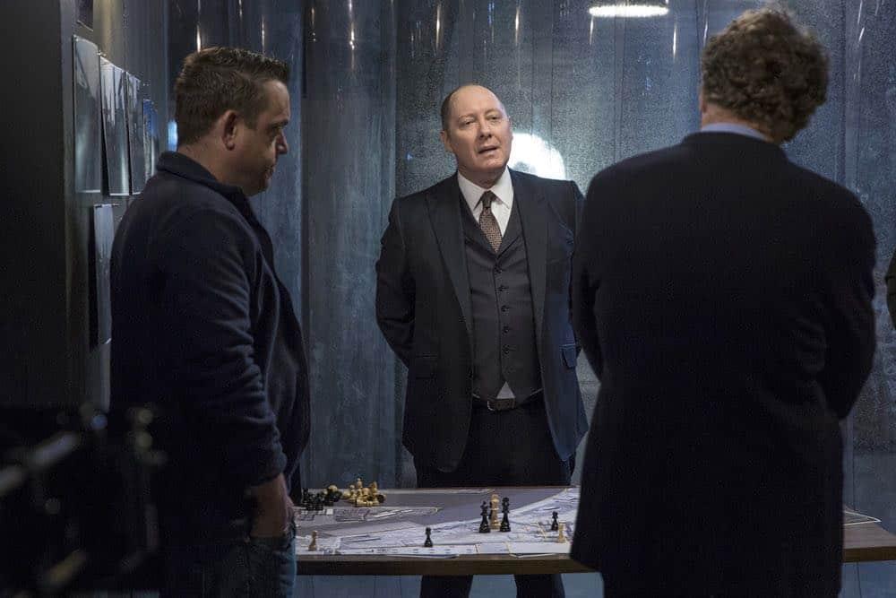 "THE BLACKLIST -- ""Ian Garvey (#13): Conclusion"" Episode 519 -- Pictured: James Spader as Raymond ""Red"" Reddington -- (Photo by: Eric Leibowitz/NBC)"