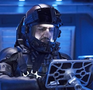 "THE EXPANSE -- ""Iff"" Episode 302 -- Pictured: Cas Anvar as Alex Kamal -- (Photo by: Rafy/Syfy)"