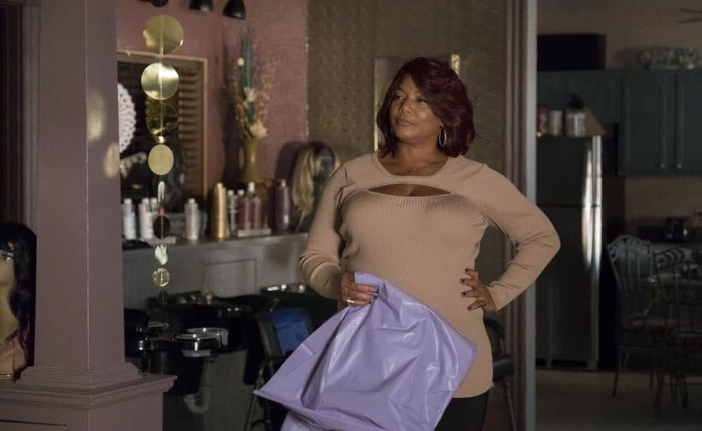 """STAR: Queen Latifah in the """"Forward (E)Motion"""" episode of STAR airing Wednesday, April 18 (9:00-10:00 PM ET/PT) on FOX. ©2018 Fox Broadcasting Co. CR: Wilford Harewood/FOX"""