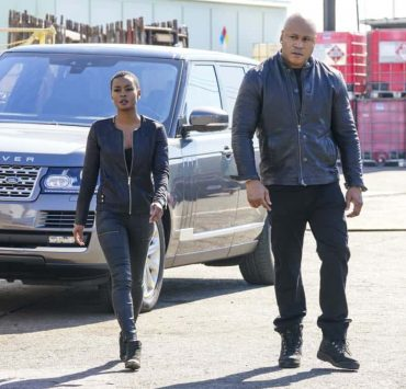 """""""Outside the Lines"""" - Pictured: Andrea Bordeaux (NCIS Special Agent Harley Hidoko) and LL COOL J (Special Agent Sam Hanna). After a cryptocurrency farm is robbed of over $10 million in Bitcoin codes, Sam and Hidoko go undercover, with Sam resuming a likely compromised former alias, on NCIS: LOS ANGELES, Sunday, April 22 (9:00-10:00 PM, ET/PT) on the CBS Television Network Photo: Bill Inoshita/CBS ©2018 CBS Broadcasting, Inc. All Rights Reserved."""