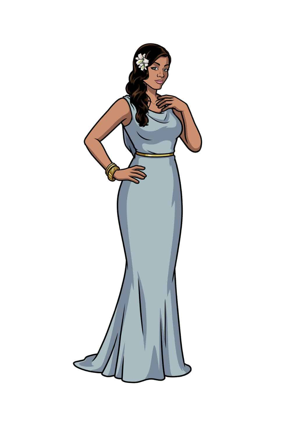 ARCHER --  Pictured:  Princess Lanaluakalani (voice of Aisha Tyler). CR: FXX