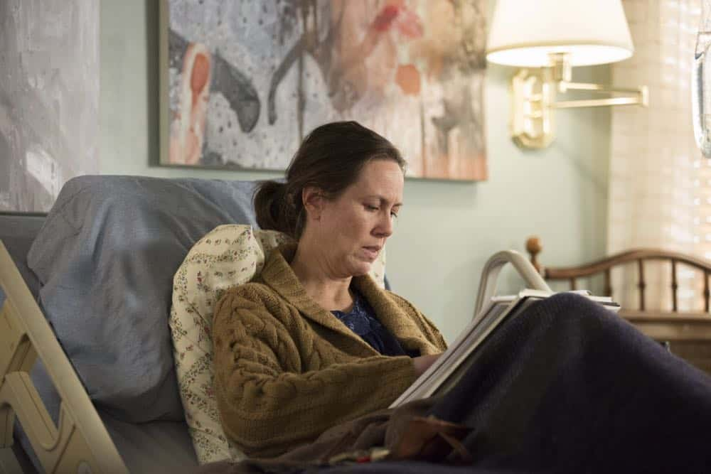 """THE AMERICANS -- """"Mr. and Mrs. Teacup"""" -- Season 6, Episode 4 (Airs Wednesday, April 18, 10:00 pm/ep) -- Pictured: Miriam Shor as Erica. CR: Eric Liebowitz/FX"""