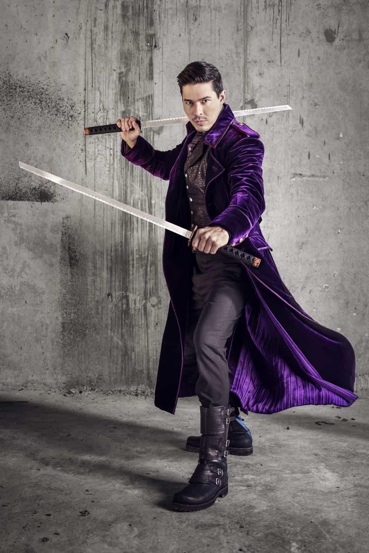 Lewis Tan as Gaius- Into the Badlands _ Season 3, Gallery - Photo Credit: Alan Clarke/AMC