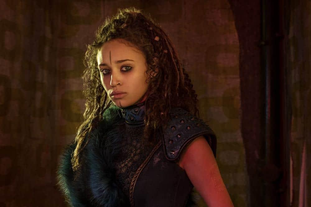 Ella-Rae Smith as Nix- Into the Badlands _ Season 3, Gallery - Photo Credit: Alan Clarke/AMC