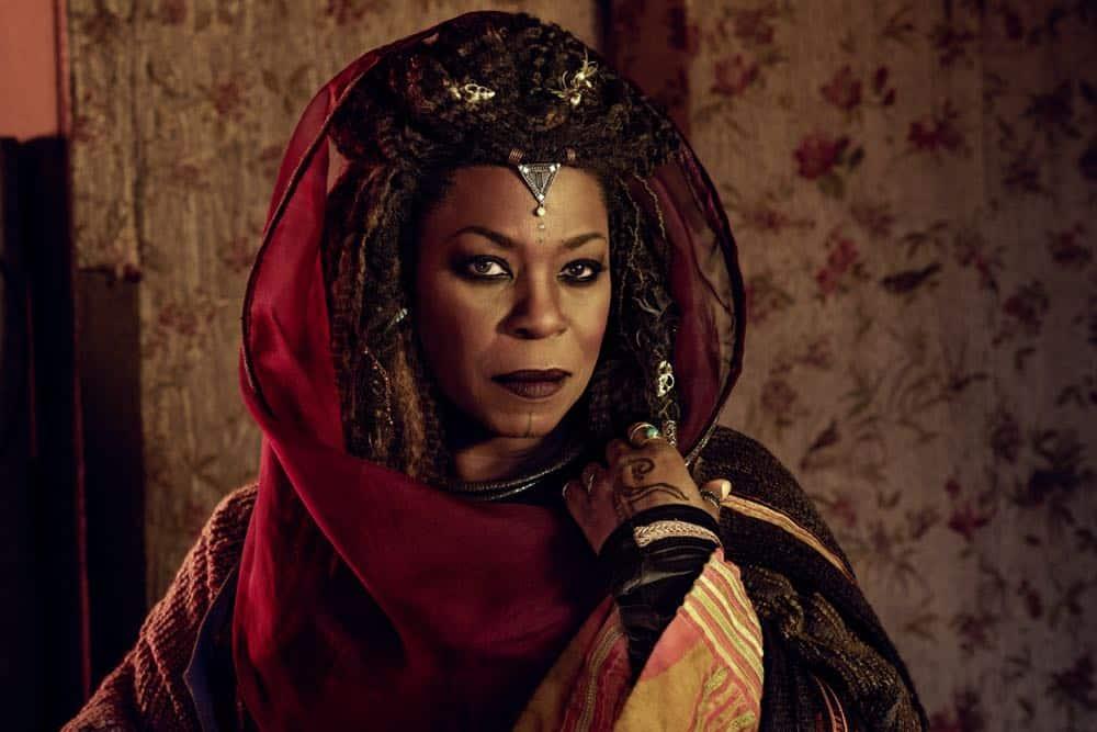 Lorraine Toussaint as Cressida- Into the Badlands _ Season 3, Gallery - Photo Credit: Alan Clarke/AMC