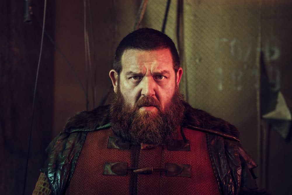 Nick Frost as Bajie- Into the Badlands _ Season 3, Gallery - Photo Credit: Alan Clarke/AMC