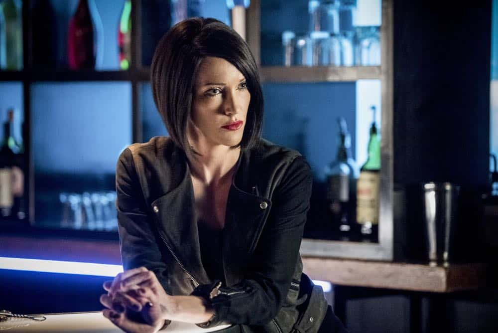 "Arrow -- ""The Dragon"" -- Image Number: AR619a_0197.jpg -- Pictured: Katie Cassidy as Laurel/Black Siren -- Photo: Dean Buscher/The CW -- © 2018 The CW Network, LLC. All rights reserved."