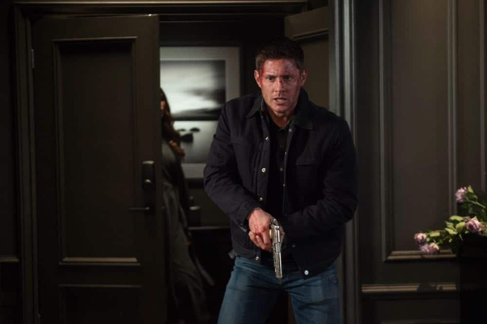 "Supernatural -- ""Funeralia"" -- Image Number: SN1319a_0390b.jpg -- Pictured: Jensen Ackles as Dean -- Photo: Diyah Pera/The CW -- © 2018 The CW Network, LLC. All rights reserved"