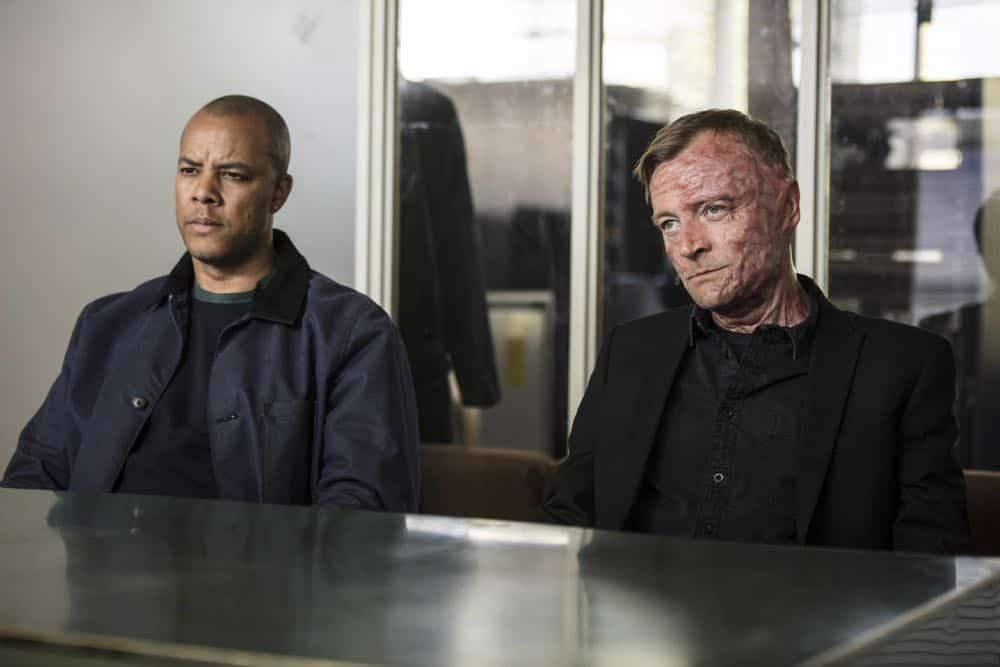 Episode 3 (debut 4/27/18): Michael Wildman, Richard Dormer. photo: Joss Barratt/CINEMAX
