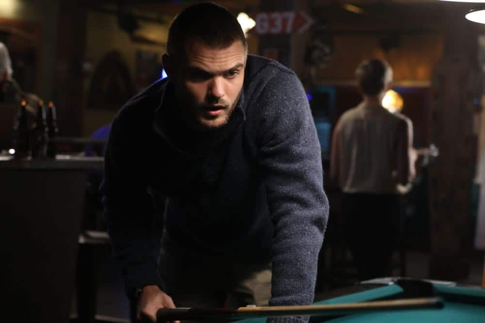 """SIREN - """"Curse of the Starving Class"""" - Disney Ben begins to investigate some suspicious overfishing, meanwhile Decker ramps up his efforts to find his escaped mermaid and shows the true extent of his influence. This episode of """"Siren"""" airs Thursday, April 19 (8:00 - 9:01 p.m. EDT) on Freeform. (Freeform/Jack Rowand) ALEX ROE"""