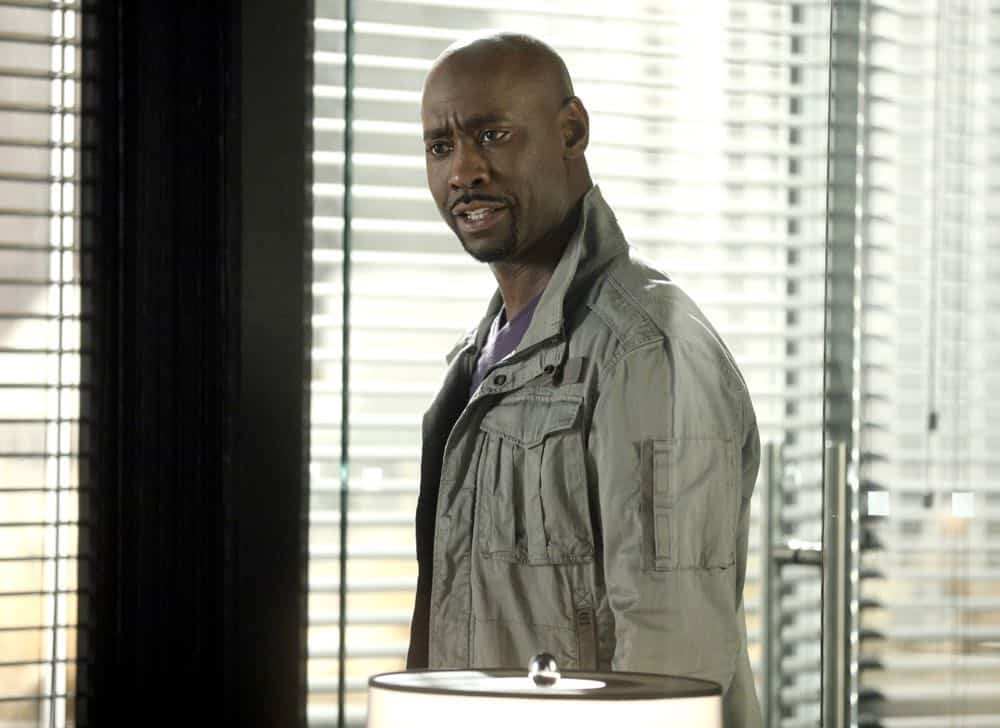"LUCIFER: DB Woodside in the ""The Angel of San Bernardino"" episode of LUCIFER airing Monday, April 16 (8:00-9:00 PM ET/PT) on FOX. CR: FOX"