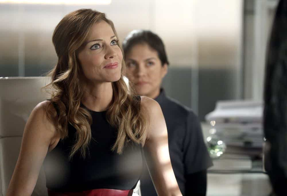 "LUCIFER: Tricia Helfer in the ""The Angel of San Bernardino"" episode of LUCIFER airing Monday, April 16 (8:00-9:00 PM ET/PT) on FOX. CR: FOX"