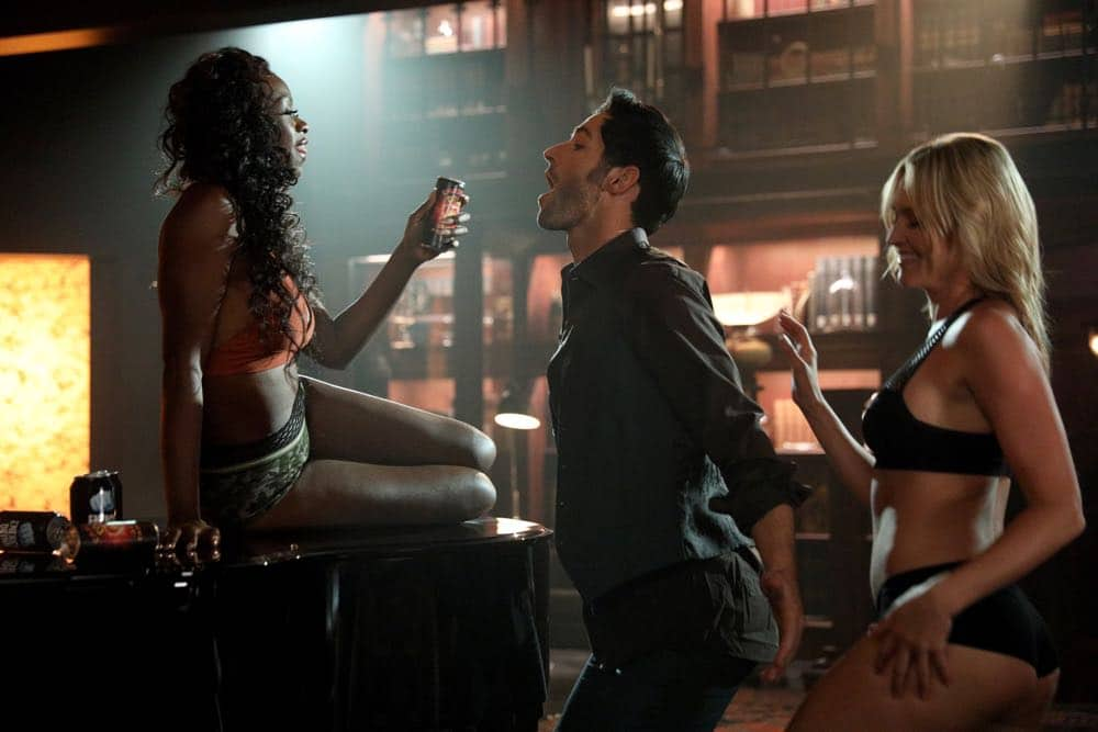 "LUCIFER: Tom Ellis in the ""The Angel of San Bernardino"" episode of LUCIFER airing Monday, April 16 (8:00-9:00 PM ET/PT) on FOX. CR: FOX"