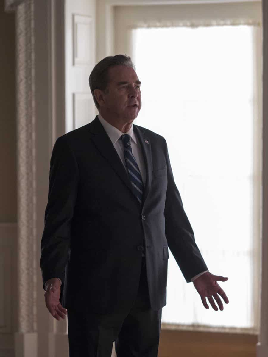 "Beau Bridges as Vice President Marlin in HOMELAND (Season 7, Episode 10, ""Clarity""). - Photo: Antony Platt/SHOWTIME"