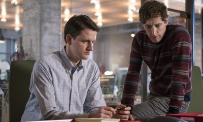 Episode 42 (season 5, episode 4), debut 4/15/18: Zach Woods, Thomas Middleditch. photo: Ali Paige Goldstein/HBO