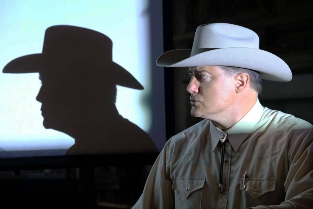 """TRUST -- """"That's All Folks"""" -- Episode 4 (Airs Sunday, April 15, 10:00 p.m.) Pictured: Brendan Fraser as James Fletcher Chace. CR: Oliver Upton/FX"""