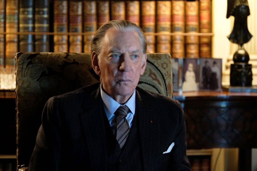 """TRUST -- """"That's All Folks"""" -- Episode 4 (Airs Sunday, April 15, 10:00 p.m.) Pictured: Donald Sutherland as J. Paul Getty. CR: Oliver Upton/FX"""
