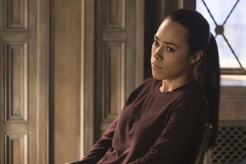 "TAKEN -- ""Imperium"" Episode 212 -- Pictured: Jessica Camacho as Santana -- (Photo by: Christos Kalohoridis/NBC)"