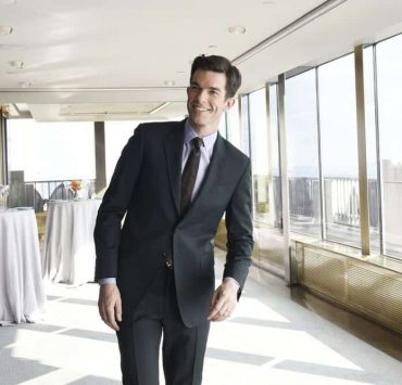 """SATURDAY NIGHT LIVE -- Episode 1743 """"John Mulaney"""" -- Pictured: Host John Mulaney during a promo in Rockefeller Plaza -- (Photo by: Rosalind O'Connor/NBC)"""