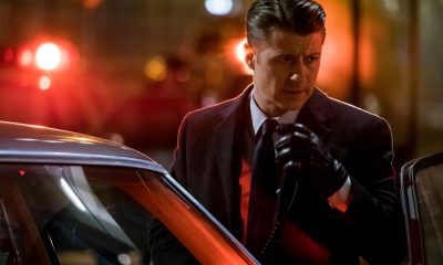"""GOTHAM: Ben McKenzie in the """"A Dark Knight: To Our Deaths and Beyond"""" episode of GOTHAM airing Thursday, April 19 (8:00-9:00 PM ET/PT) on FOX. ©2018 Fox Broadcasting Co. Cr: FOX"""