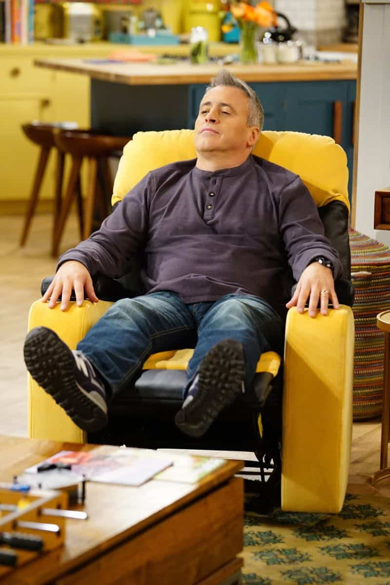 """King For a Day"" -- Adam is determined to figure out what Andi's hiding when he discovers she's been keeping secrets from him for his own good, on MAN WITH A PLAN, Monday, April 16 (8:30-9:00 PM, ET/PT) on the CBS Television Network. Pictured  Matt LeBlanc as Adam Burns  Photo: Sonja Flemming/CBS ©2018 CBS Broadcasting, Inc. All Rights Reserved"