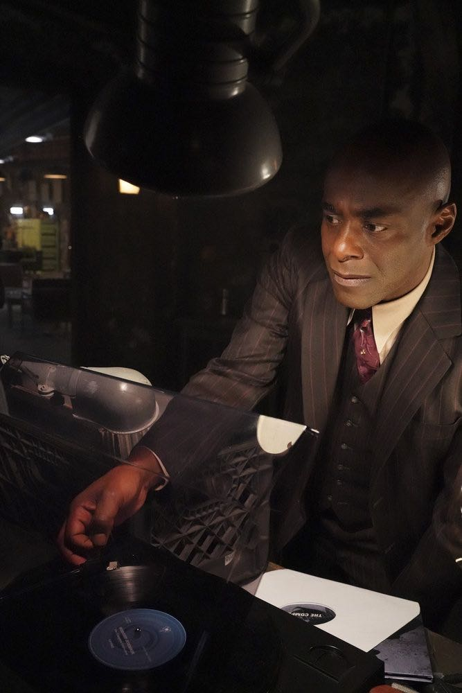 "TIMELESS -- ""King of the Delta Blues"" Episode 206 -- Pictured: Paterson Joseph as Connor Mason -- (Photo by: Evans Vestal Ward/NBC)"