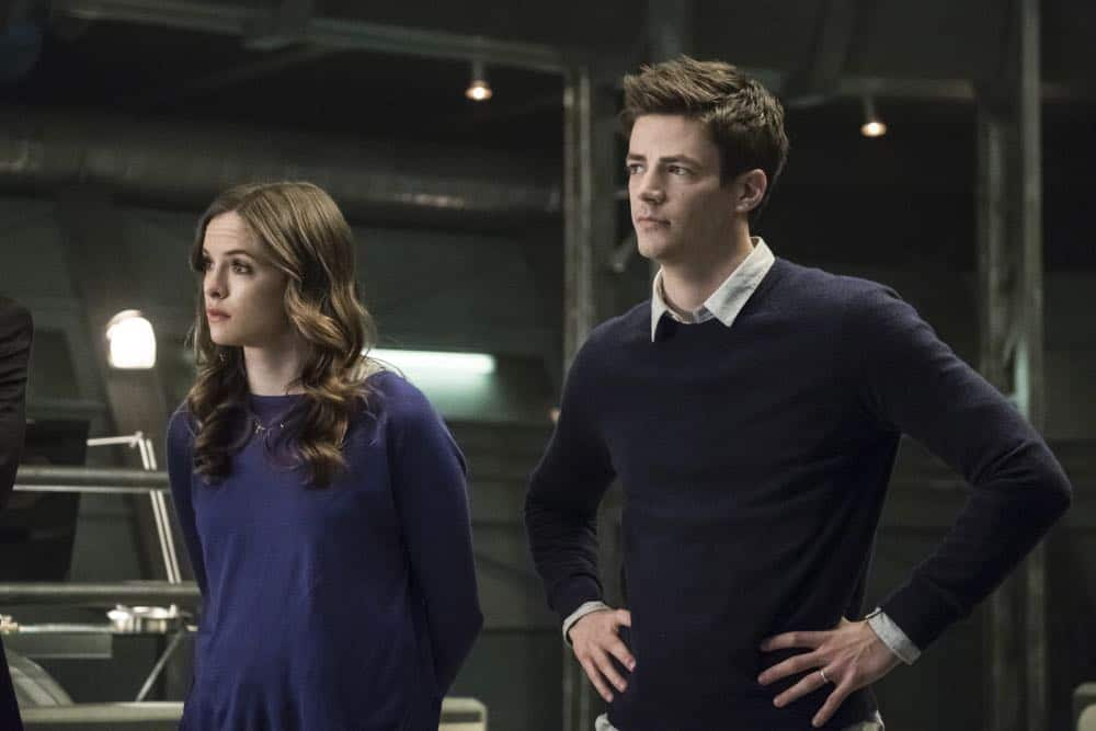 "The Flash -- ""Lose Yourself"" -- Image Number: FLA418a_0111b.jpg -- Pictured (L-R): Danielle Panabaker as Caitlin Snow and Grant Gustin as Barry Allen -- Photo: Katie Yu/The CW -- © 2018 The CW Network, LLC. All rights reserved"