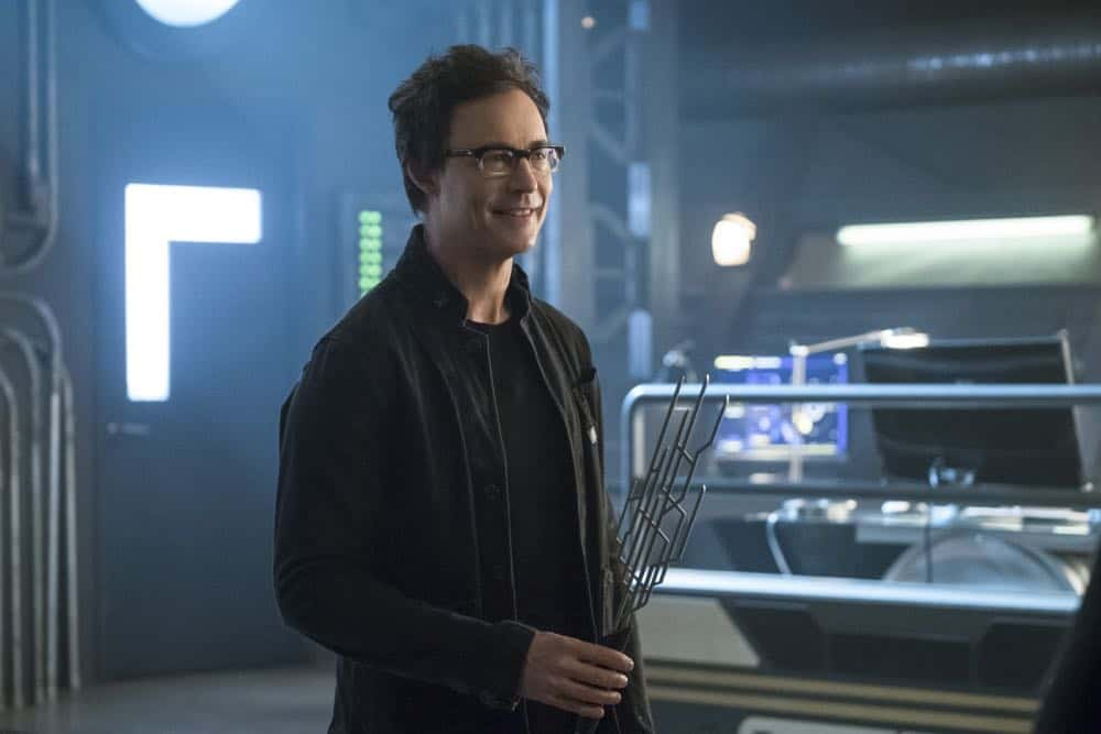 "The Flash -- ""Lose Yourself"" -- Image Number: FLA418a_0228b.jpg -- Pictured: Tom Cavanagh as Harrison Wells -- Photo: Katie Yu/The CW -- © 2018 The CW Network, LLC. All rights reserved"