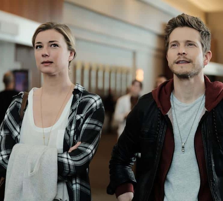 """THE RESIDENT: L-R: Emily VanCamp and Matt Czuchry in the """"And the Nurses Get Screwed…"""" episode of THE RESIDENT airing Monday, April 23 (9:00-10:00 PM ET/PT) on FOX. ©2018 Fox Broadcasting Co. Cr: Guy D'Alema/FOX"""