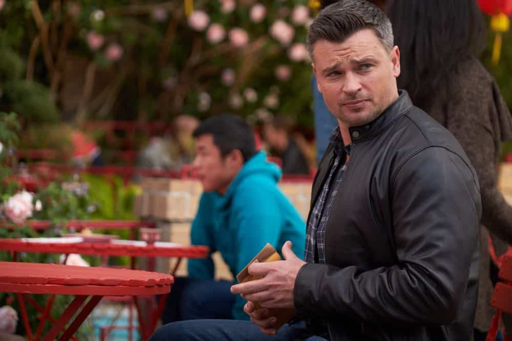 """LUCIFER: Tom Welling in the """"Anything Pierce Can Do I Can Do Better"""" episode of LUCIFER airingMonday, April 23 (8:00-9:00 PM ET/PT) on FOX. CR: FOX"""