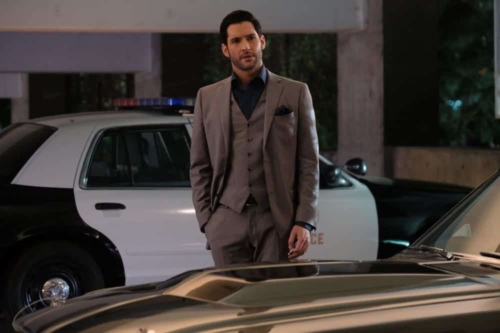 "LUCIFER: Tom Ellis in the ""Anything Pierce Can Do I Can Do Better"" episode of LUCIFER airing Monday, April 23 (8:00-9:00 PM ET/PT) on FOX. CR: FOX"
