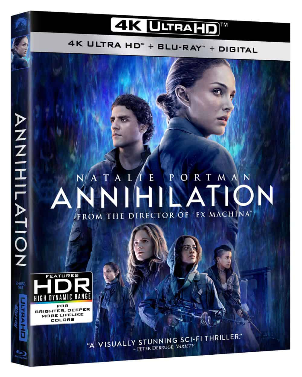 ANNIHILATION 4K + Blu-ray + Digital Cover