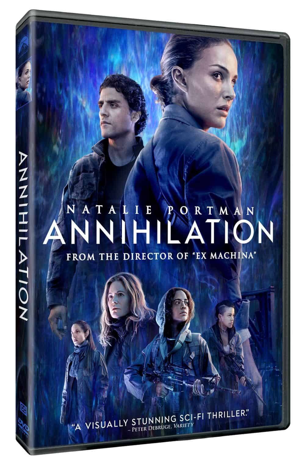 ANNIHILATION DVD Cover