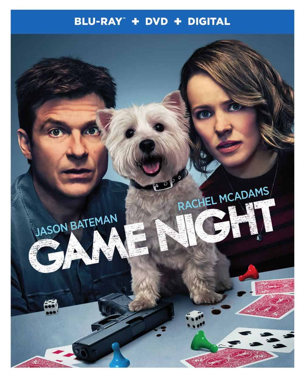 Game Night Blu-ray + DVD + Digital Cover
