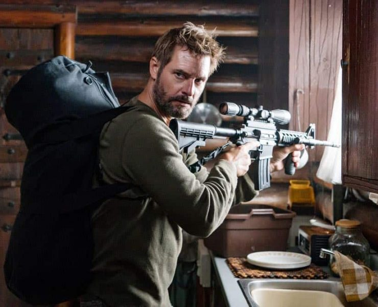 "COLONY -- ""Maquis"" Episode 301 -- Pictured: Josh Holloway as Will Bowman -- (Photo by: Daniel Power/USA Network)"