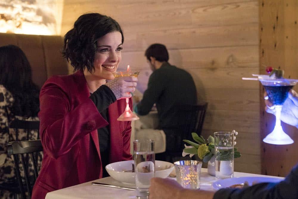 "BLINDSPOT -- ""Clamorous Night"" Episode 318 -- Pictured: Jaimie Alexander as Jane Doe -- (Photo by: David Giesbrecht/NBC/Warner Bros)"