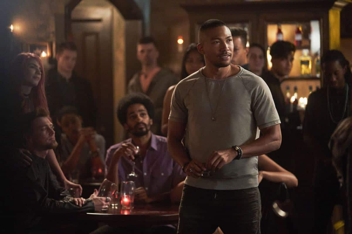 """The Originals -- """"One Wrong Turn on Bourbon"""" -- Image Number: OR502B_0211b.jpg -- Pictured: Charles Michael Davis as Marcel -- Photo: Bob Mahoney/The CW -- © 2018 The CW Network, LLC. All rights reserved."""