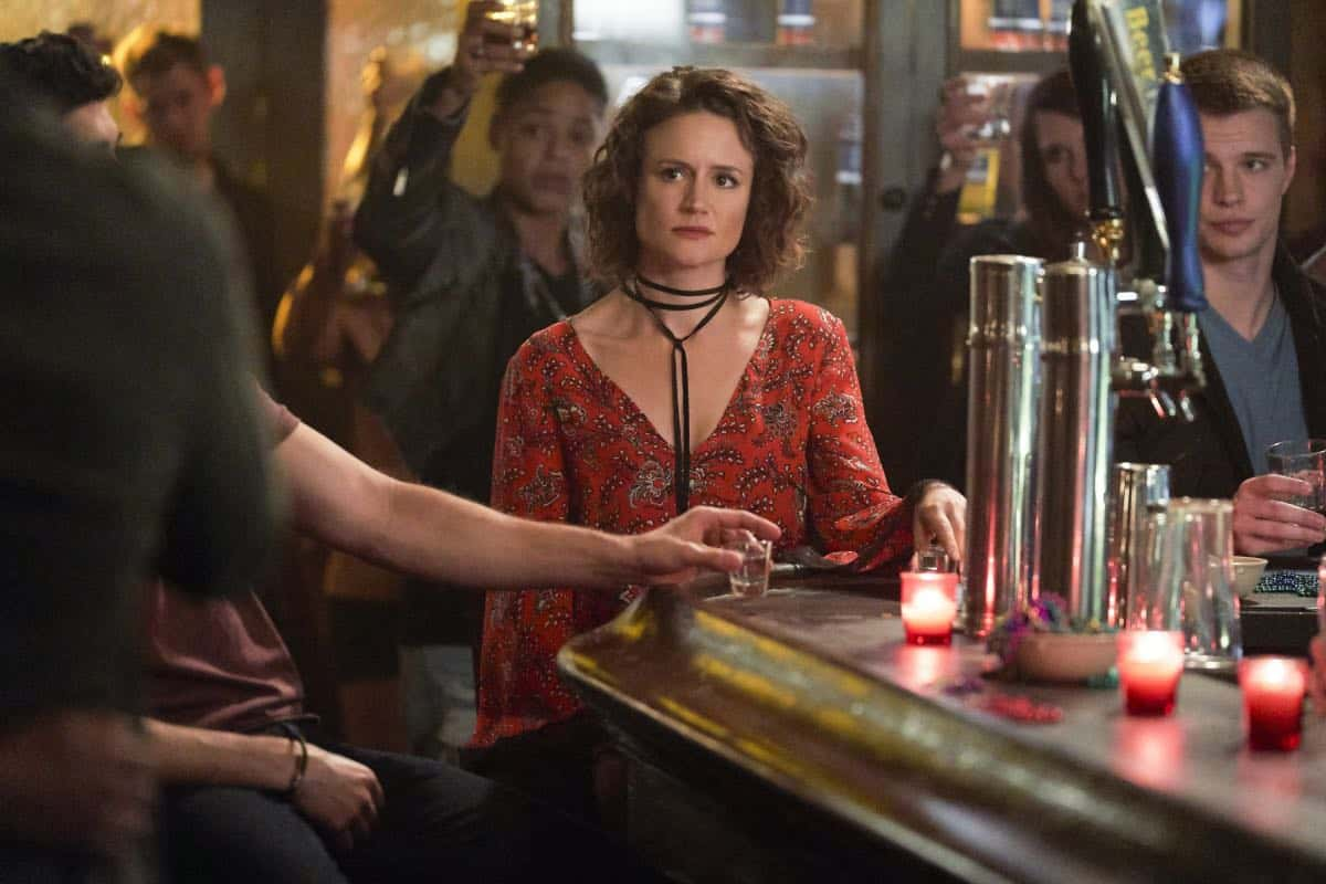 """The Originals -- """"One Wrong Turn on Bourbon"""" -- Image Number: OR502B_0127b.jpg -- Pictured: Nadine Lexington as Greta -- Photo: Bob Mahoney/The CW -- © 2018 The CW Network, LLC. All rights reserved."""