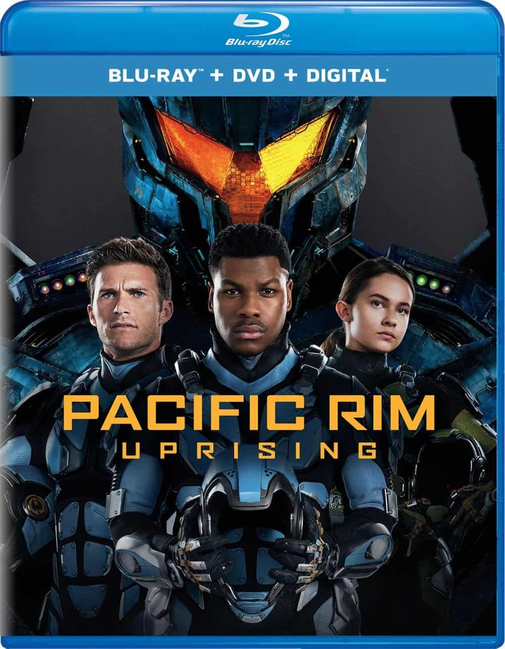 Pacific Rim Uprising Blu-ray DVD Digital Cover