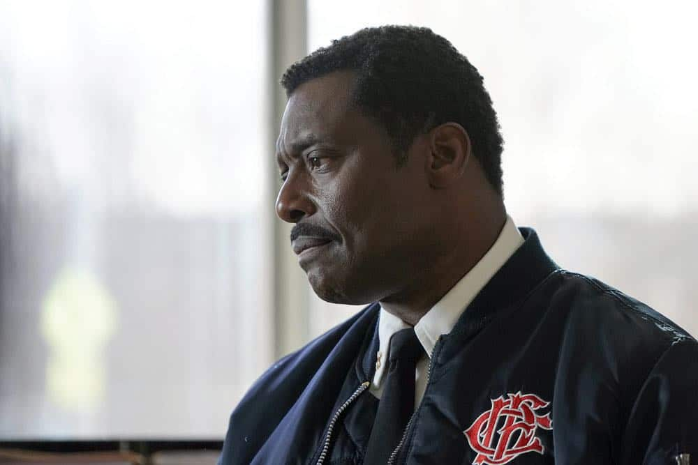 "CHICAGO FIRE -- ""Where I Want To Be"" Episode 619 -- Pictured: Eamonn Walker as Wallace Boden -- (Photo by: Elizabeth Morris/NBC)"