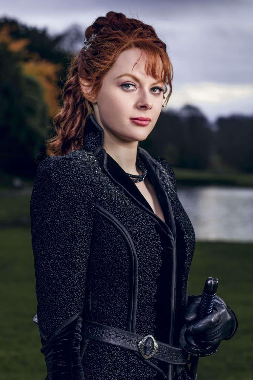 Emily Beecham as The Widow - Into the Badlands _ Season 3, Episode 1 - Photo Credit: Aidan Monaghan/AMC