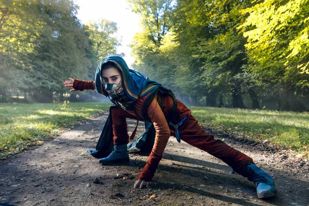 Ally Ioannides as Tilda - Into the Badlands _ Season 3, Episode 1 - Photo Credit: Aidan Monaghan/AMC
