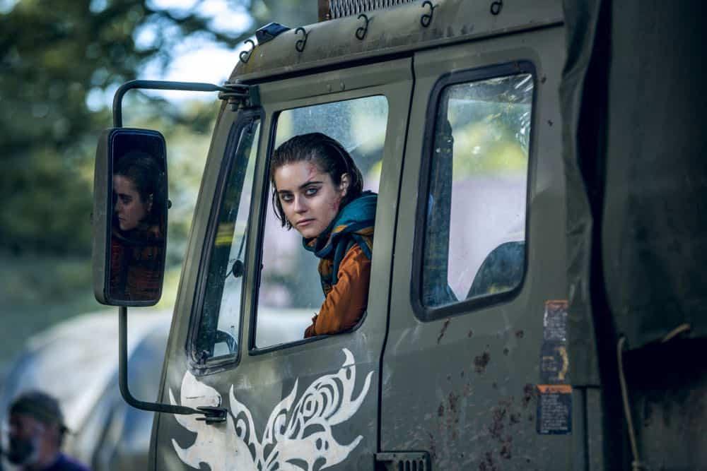 Ally Ioannides as Tilda - Into the Badlands _ Season 3, Episode 1 - Photo Credit: Aidan Monaghan/AMCAlly Ioannides as Tilda - Into the Badlands _ Season 3, Episode 1 - Photo Credit: Aidan Monaghan/AMC