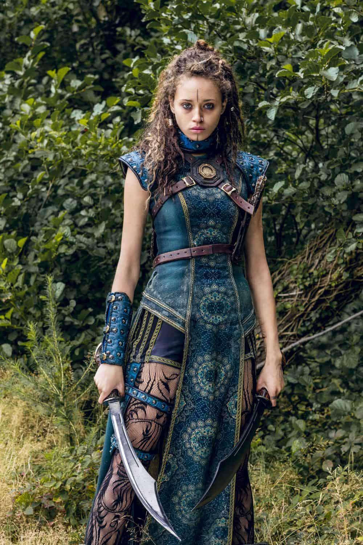 Ella-Rae Smith as Nix - Into the Badlands _ Season 3, Episode 1 - Photo Credit: Aidan Monaghan/AMC